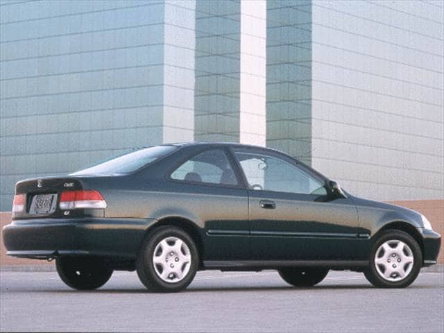 Most Popular Coupes of 1999 - 1999 Honda Civic