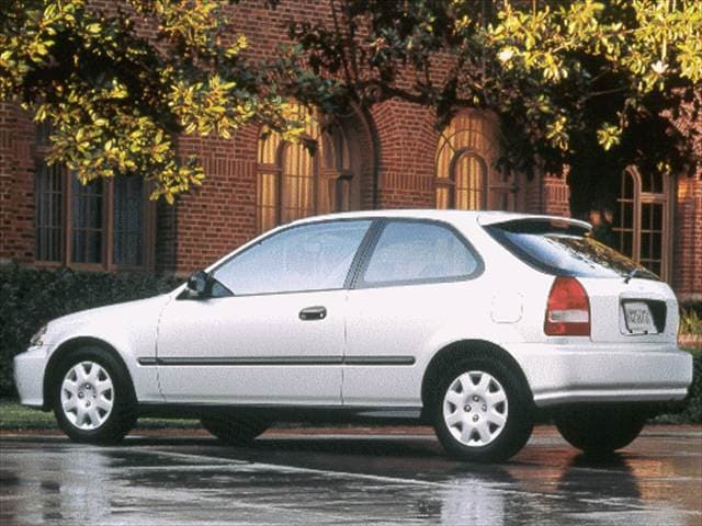 Most Popular Hatchbacks of 1999 - 1999 Honda Civic