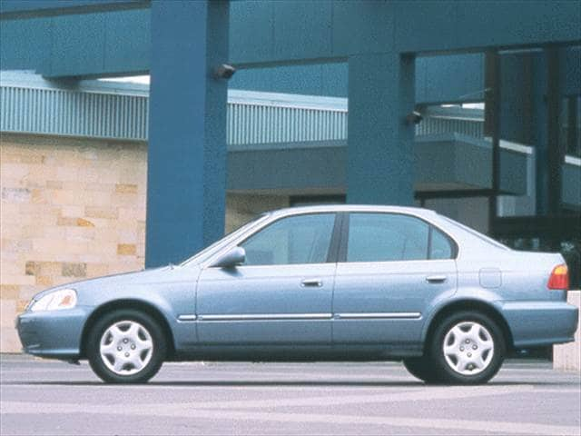 Most Popular Sedans of 1999 - 1999 Honda Civic