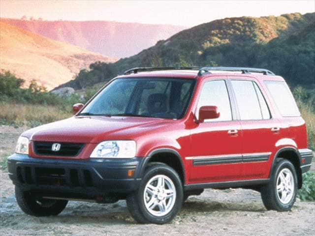 Most Fuel Efficient Crossovers of 1999 - 1999 Honda CR-V