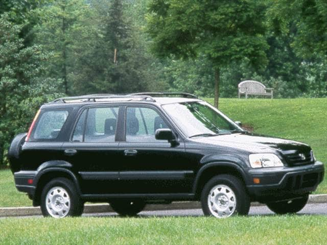 Top Consumer Rated SUVs of 1999 - 1999 Honda CR-V