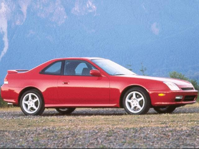 Top Consumer Rated Coupes of 1999 - 1999 Honda Prelude
