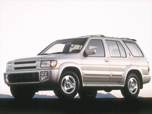 Top Consumer Rated SUVs of 1999 - 1999 INFINITI QX