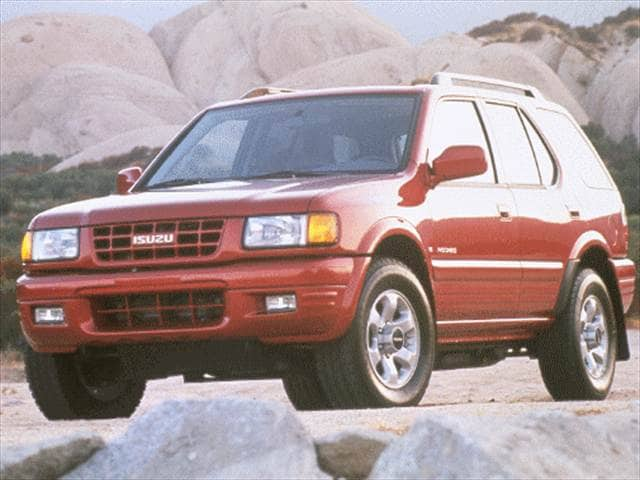 Most Fuel Efficient SUVs of 1999 - 1999 Isuzu Rodeo