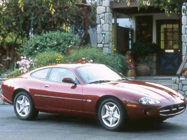 Highest Horsepower Coupes of 1999 - 1999 Jaguar XK