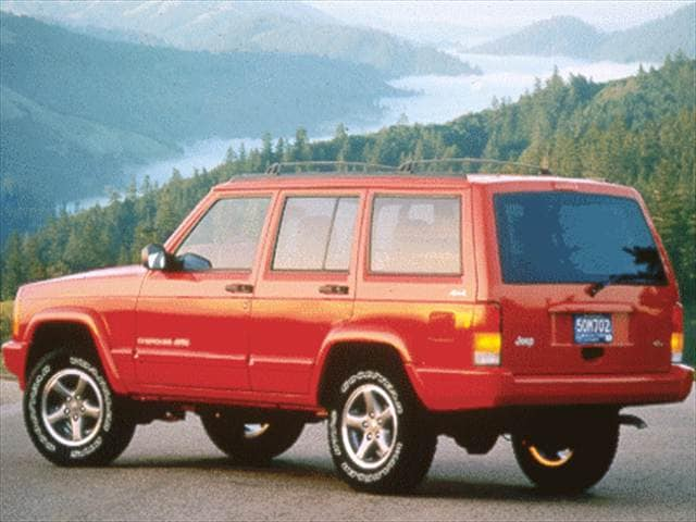 Top Consumer Rated SUVs of 1999 - 1999 Jeep Cherokee