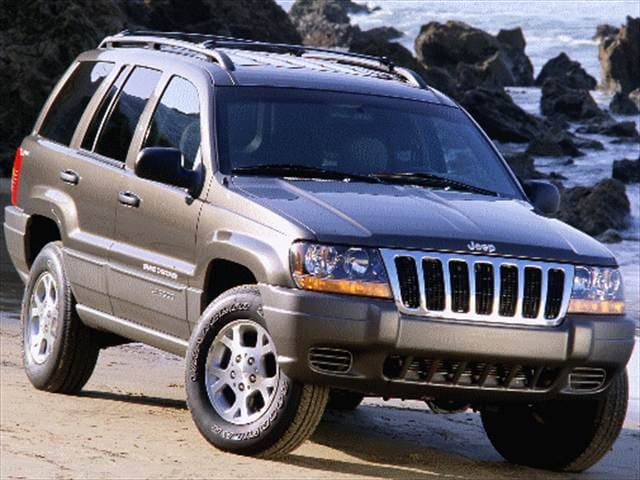 Most Popular SUVs of 1999 - 1999 Jeep Grand Cherokee