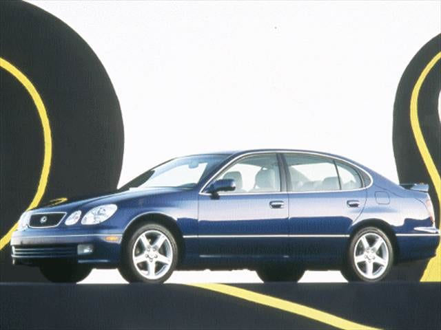 Highest Horsepower Luxury Vehicles of 1999 - 1999 Lexus GS
