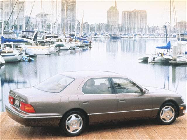 Top Consumer Rated Luxury Vehicles of 1999 - 1999 Lexus LS