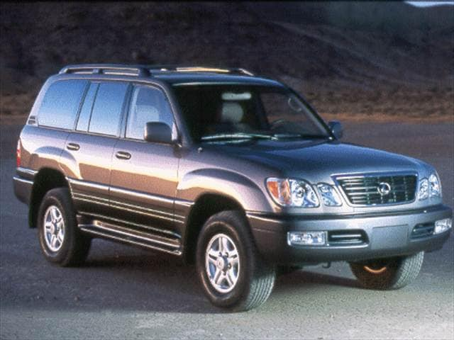 Top Consumer Rated Luxury Vehicles of 1999 - 1999 Lexus LX