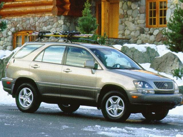Most Popular Crossovers of 1999 - 1999 Lexus RX