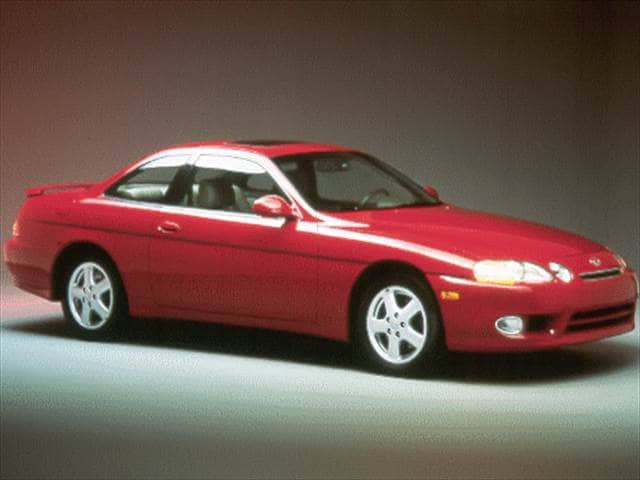 Highest Horsepower Coupes of 1999 - 1999 Lexus SC
