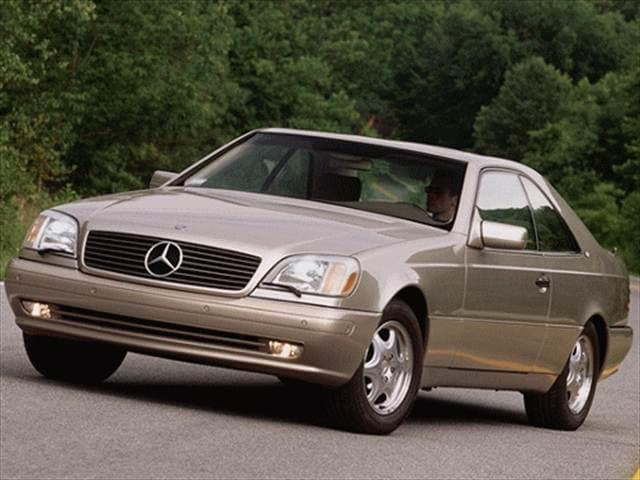 Highest Horsepower Luxury Vehicles of 1999 - 1999 Mercedes-Benz CL-Class