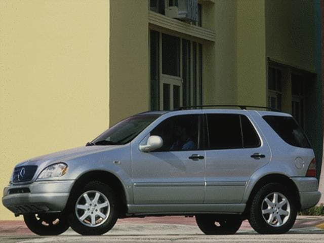 Top Consumer Rated Crossovers of 1999 - 1999 Mercedes-Benz M-Class