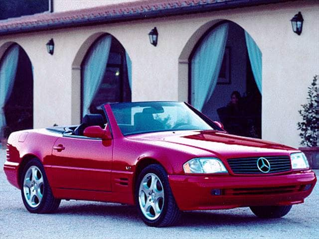 Highest Horsepower Luxury Vehicles of 1999 - 1999 Mercedes-Benz SL-Class