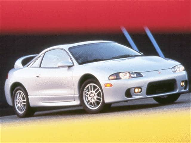 Most Fuel Efficient Hatchbacks of 1999 - 1999 Mitsubishi Eclipse