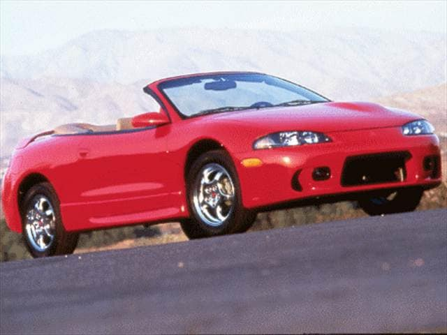 Most Fuel Efficient Convertibles of 1999 - 1999 Mitsubishi Eclipse