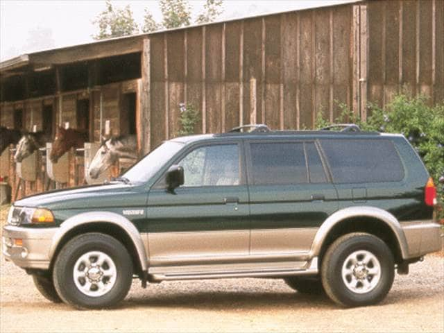 Most Fuel Efficient SUVs of 1999 - 1999 Mitsubishi Montero Sport