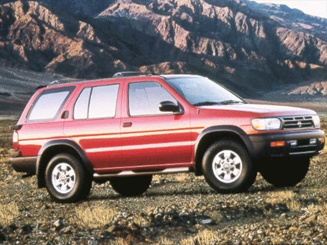 Most Popular SUVs of 1999 - 1999 Nissan Pathfinder