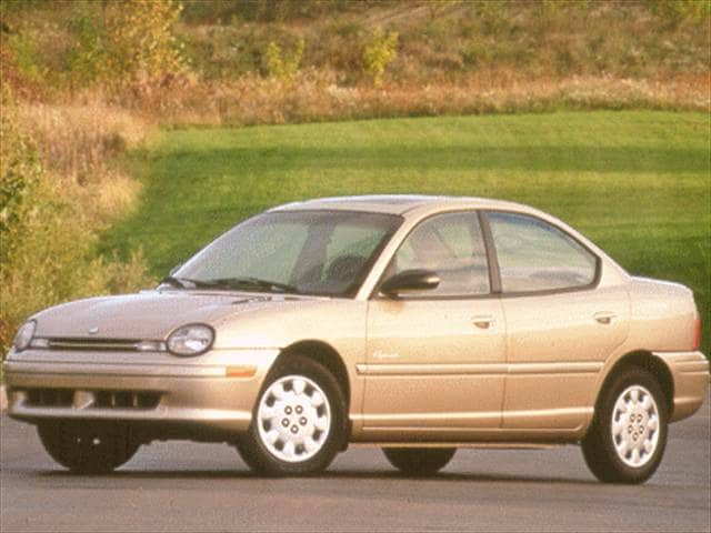 Most Fuel Efficient Sedans of 1999 - 1999 Plymouth Neon