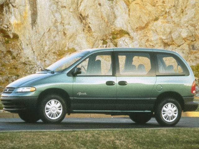 Most Fuel Efficient Vans/Minivans of 1999 - 1999 Plymouth Voyager