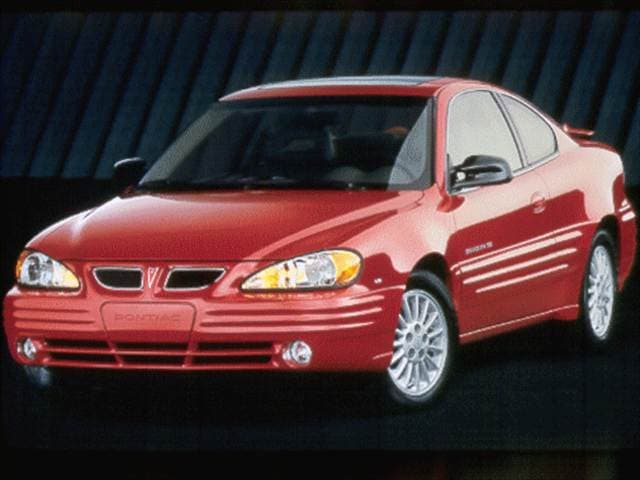 Most Popular Coupes of 1999 - 1999 Pontiac Grand Am
