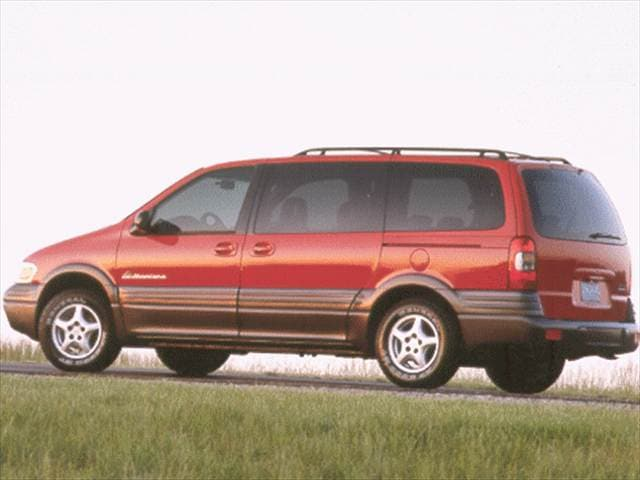 Most Fuel Efficient Vans/Minivans of 1999 - 1999 Pontiac Montana