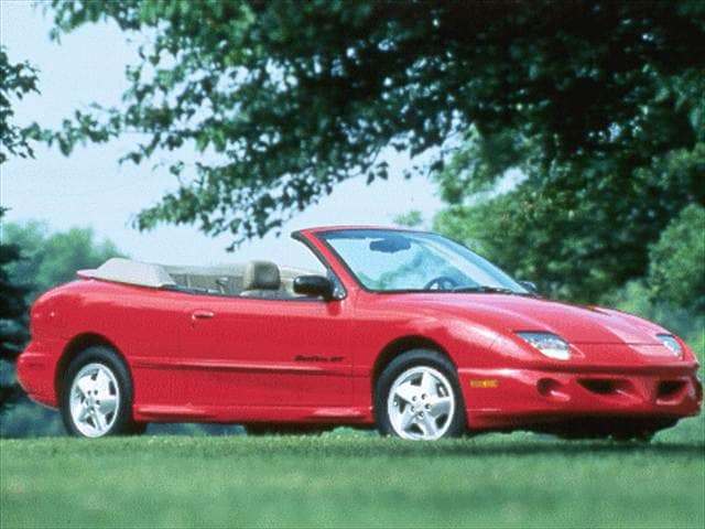 Most Popular Convertibles of 1999