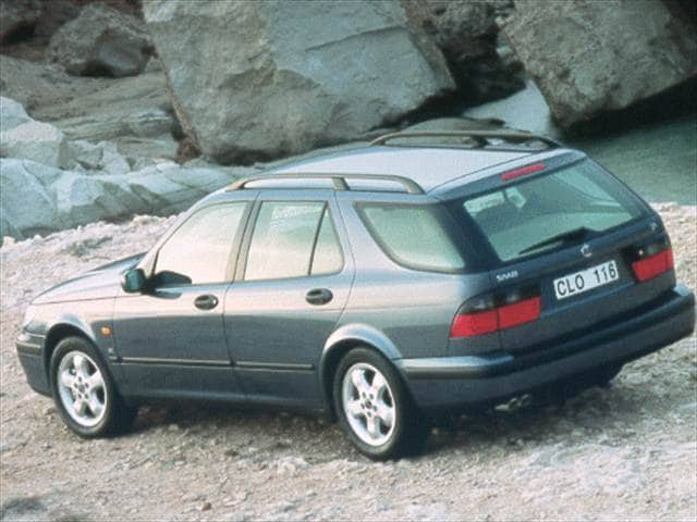 Most Popular Wagons of 1999 - 1999 Saab 9-5