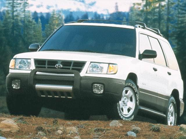 Most Popular Crossovers of 1999 - 1999 Subaru Forester