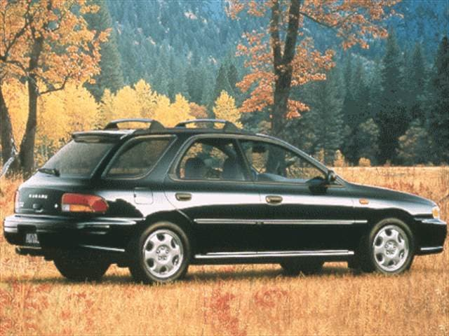 Most Fuel Efficient Wagons of 1999 - 1999 Subaru Impreza