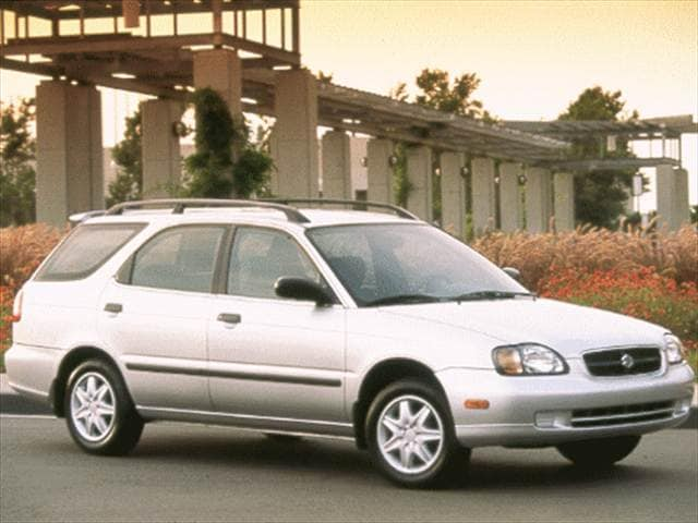 Most Fuel Efficient Wagons of 1999 - 1999 Suzuki Esteem