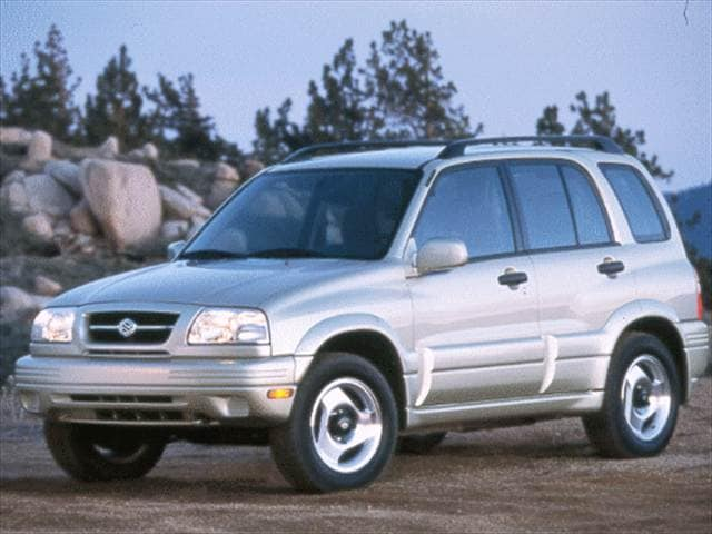 Highest Horsepower Crossovers of 1999 - 1999 Suzuki Grand Vitara