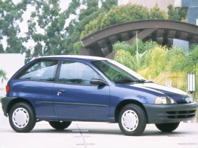 Most Fuel Efficient Coupes of 1999 - 1999 Suzuki Swift