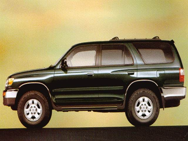 Top Consumer Rated SUVs of 1999 - 1999 Toyota 4Runner
