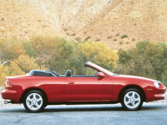 Most Fuel Efficient Convertibles of 1999 - 1999 Toyota Celica