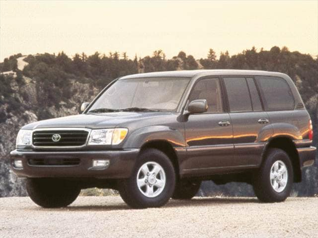 Top Consumer Rated SUVs of 1999 - 1999 Toyota Land Cruiser