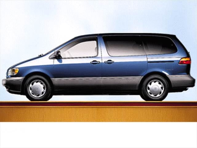 Top Consumer Rated Vans/Minivans of 1999 - 1999 Toyota Sienna