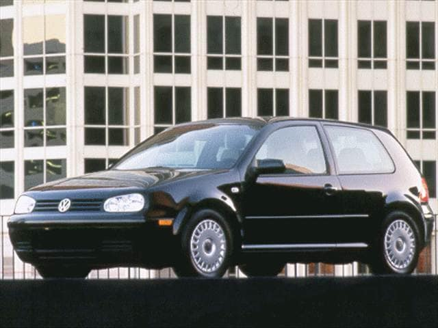 Most Fuel Efficient Hatchbacks of 1999 - 1999 Volkswagen Golf (New)