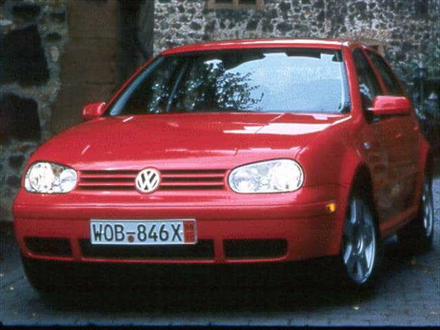 Most Fuel Efficient Sedans of 1999 - 1999 Volkswagen Golf (New)