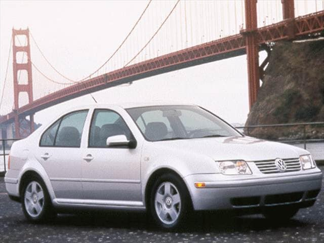 Most Popular Sedans of 1999 - 1999 Volkswagen Jetta (New)