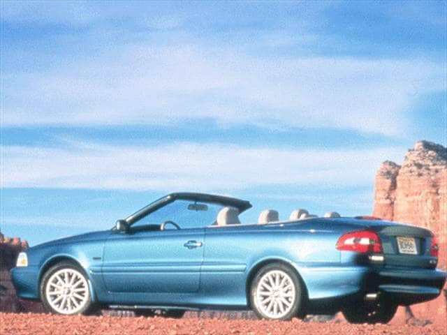 Most Fuel Efficient Convertibles of 1999 - 1999 Volvo C70