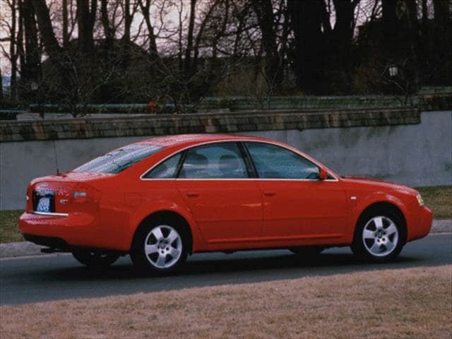 Most Popular Luxury Vehicles of 2000 - 2000 Audi A6