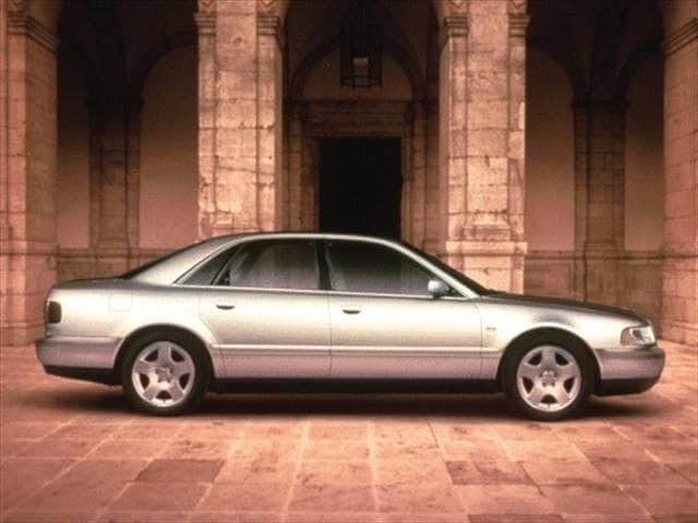 Highest Horsepower Sedans of 2000 - 2000 Audi A8