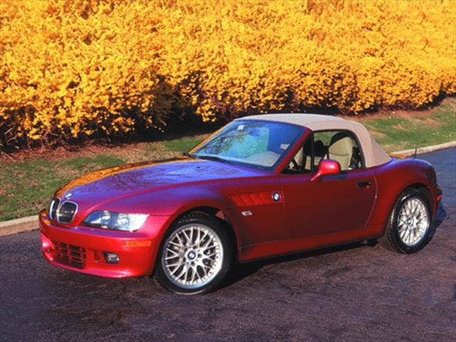 Top Consumer Rated Convertibles of 2000 - 2000 BMW Z3