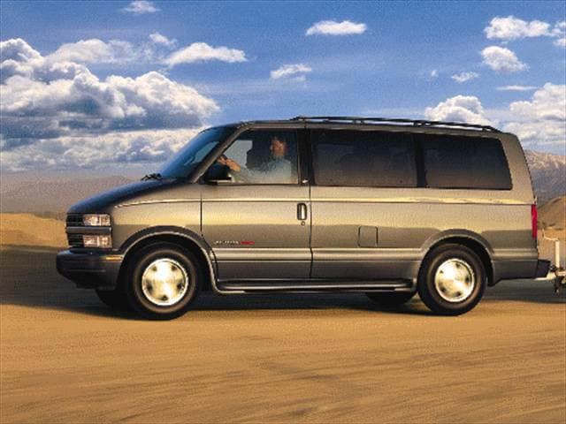 Most Popular Vans/Minivans of 2000 - 2000 Chevrolet Astro Passenger