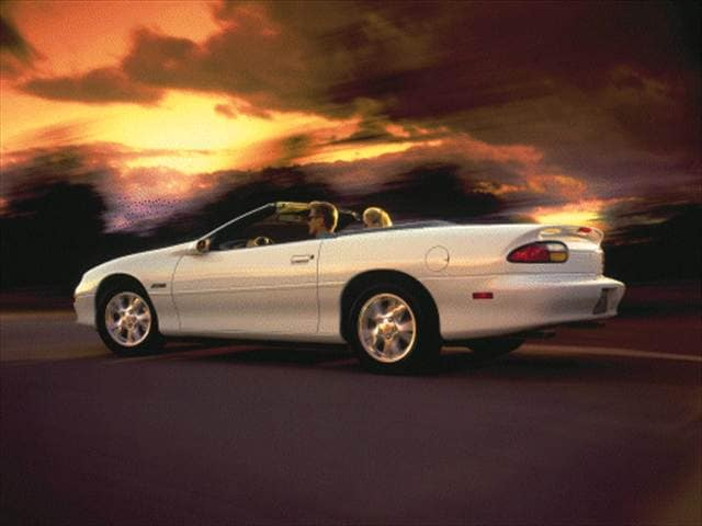 Most Popular Convertibles of 2000 - 2000 Chevrolet Camaro