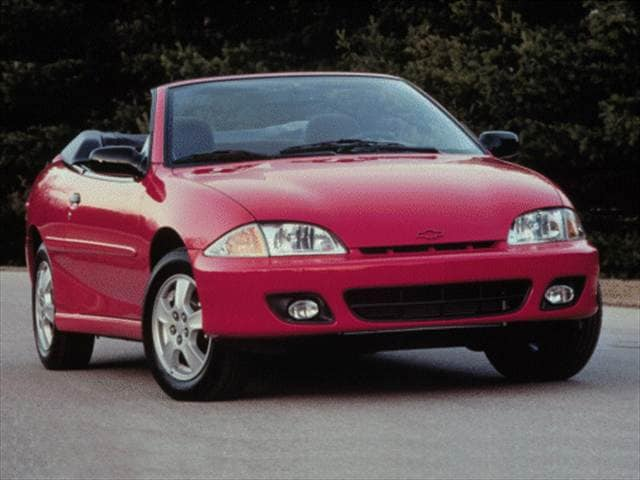 Most Popular Convertibles of 2000 - 2000 Chevrolet Cavalier