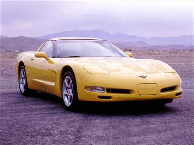 Most Popular Hatchbacks of 2000 - 2000 Chevrolet Corvette