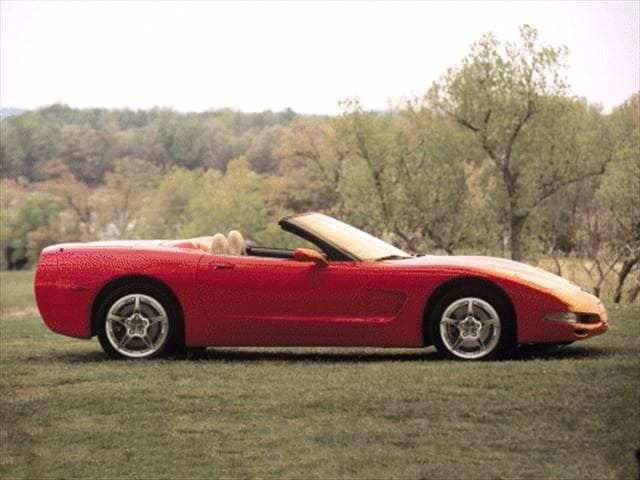 Top Consumer Rated Convertibles of 2000 - 2000 Chevrolet Corvette